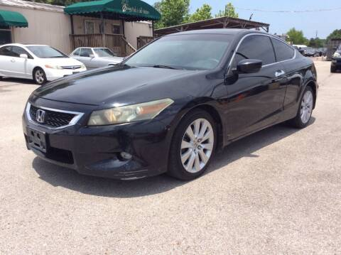 2008 Honda Accord for sale at OASIS PARK & SELL in Spring TX