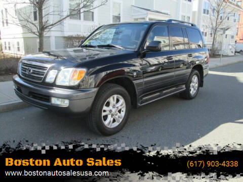 2005 Lexus LX 470 for sale at Boston Auto Sales in Brighton MA