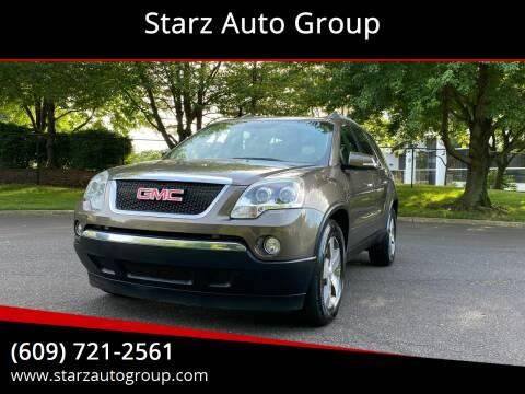 2011 GMC Acadia for sale at Starz Auto Group in Delran NJ