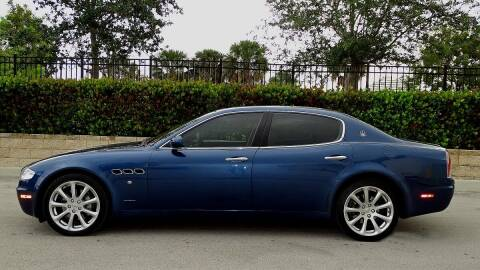 2006 Maserati Quattroporte for sale at Premier Luxury Cars in Oakland Park FL