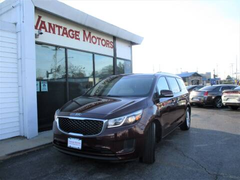 2016 Kia Sedona for sale at Vantage Motors LLC in Raytown MO