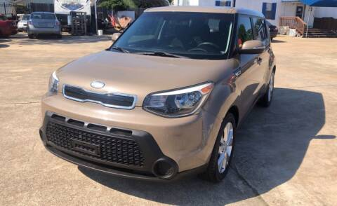 2014 Kia Soul for sale at Newsed Auto in Houston TX