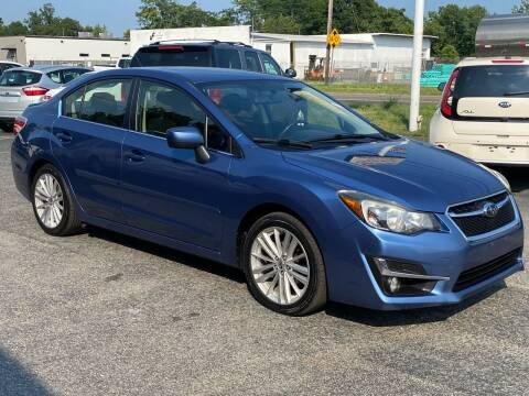 2015 Subaru Impreza for sale at MetroWest Auto Sales in Worcester MA