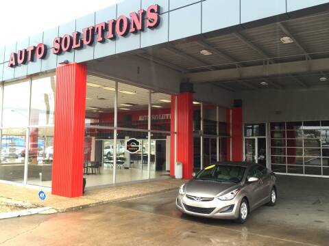 2014 Hyundai Elantra for sale at Auto Solutions in Warr Acres OK