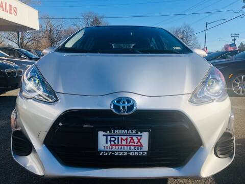 2016 Toyota Prius c for sale at Trimax Auto Group in Norfolk VA