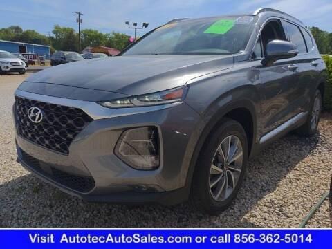 2019 Hyundai Santa Fe for sale at Autotec Auto Sales in Vineland NJ