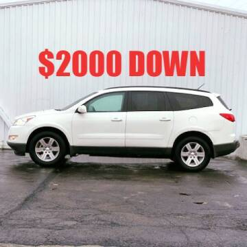 2012 Chevrolet Traverse for sale at Credit Connection Auto Sales in Midwest City OK
