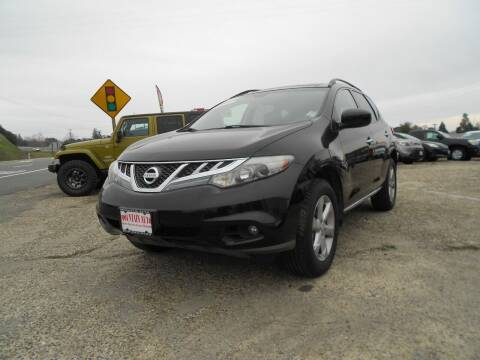 2011 Nissan Murano for sale at Mountain Auto in Jackson CA