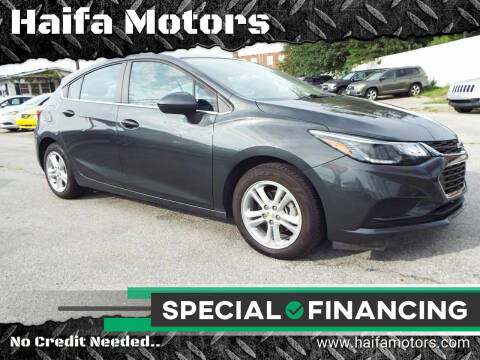 2017 Chevrolet Cruze for sale at Haifa Motors in Philadelphia PA