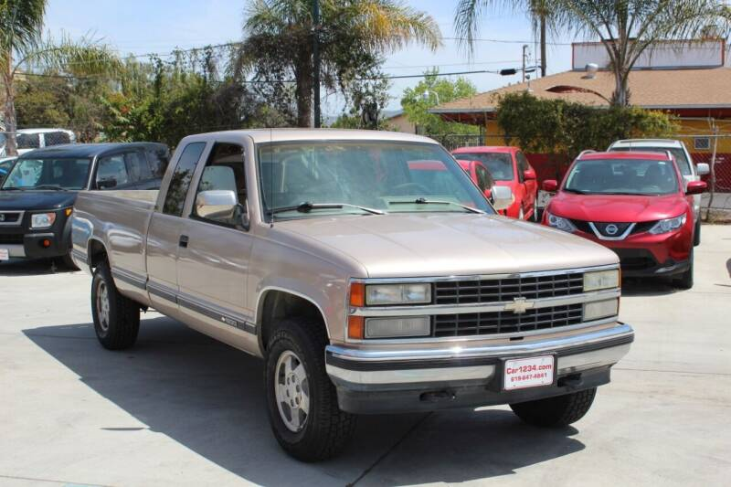 1993 Chevrolet C/K 1500 Series for sale at Car 1234 inc in El Cajon CA
