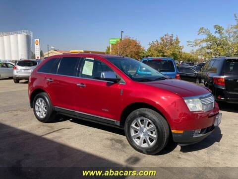 2009 Lincoln MKX for sale at About New Auto Sales in Lincoln CA
