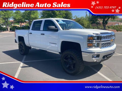 2014 Chevrolet Silverado 1500 for sale at Ridgeline Auto Sales in Saint George UT
