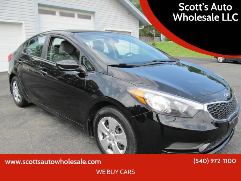 2014 Kia Forte for sale at Scott's Auto Wholesale LLC in Locust Grove VA