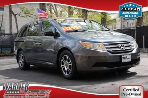 2011 Honda Odyssey for sale at Warner Motors in East Orange NJ
