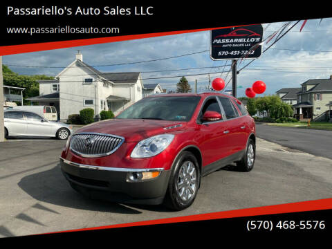 2012 Buick Enclave for sale at Passariello's Auto Sales LLC in Old Forge PA