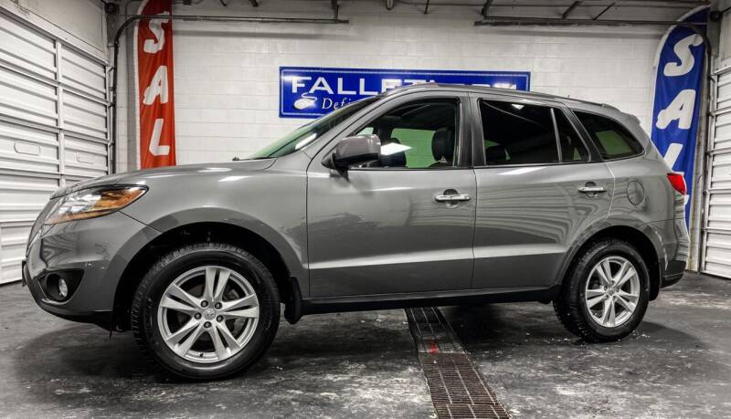 2010 Hyundai Santa Fe for sale at Falleti Motors, Inc.  est. 1976 in Batavia NY