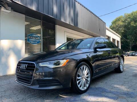 2013 Audi A6 for sale at Car Online in Roswell GA