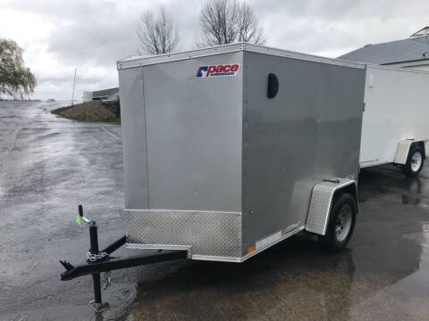 2021 Pace American 5x8 V-nose Single Axle for sale at Forkey Auto & Trailer Sales in La Fargeville NY