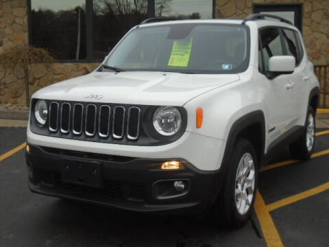 2017 Jeep Renegade for sale at Rogos Auto Sales in Brockway PA