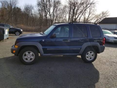 2007 Jeep Liberty for sale at Balfour Motors in Agawam MA