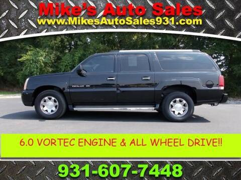 2005 Cadillac Escalade ESV for sale at Mike's Auto Sales in Shelbyville TN