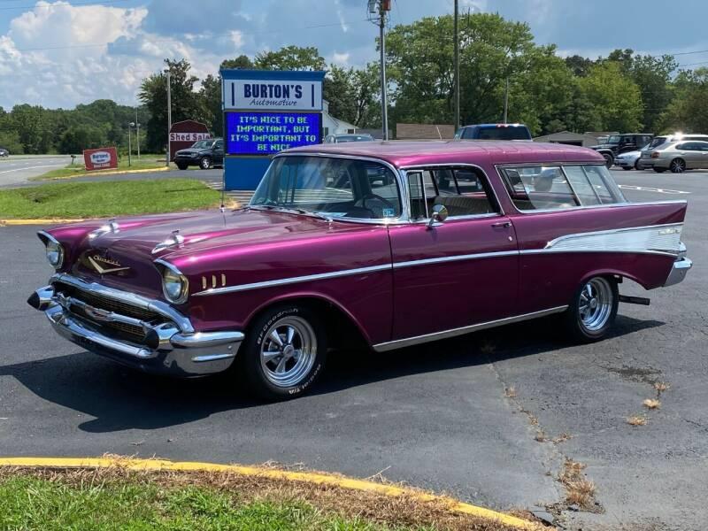 1957 Chevrolet Bel Air for sale at Burton's Automotive in Fredericksburg VA