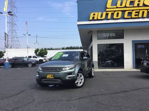 2015 Land Rover Range Rover Evoque for sale at Lucas Auto Center in South Gate CA