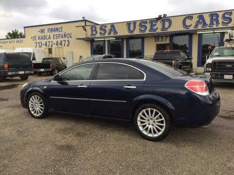 2008 Saturn Aura for sale at BSA Used Cars in Pasadena TX