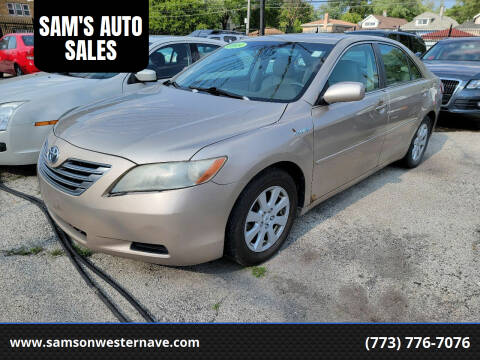 2009 Toyota Camry Hybrid for sale at SAM'S AUTO SALES in Chicago IL