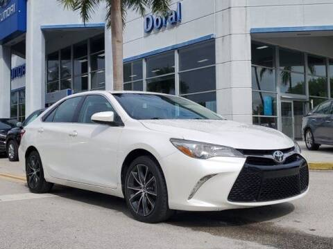 2015 Toyota Camry for sale at DORAL HYUNDAI in Doral FL
