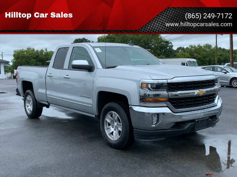 2017 Chevrolet Silverado 1500 for sale at Hilltop Car Sales in Knox TN