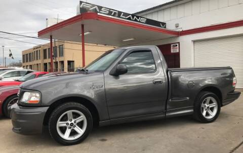 2003 Ford F-150 SVT Lightning for sale at FAST LANE AUTO SALES in San Antonio TX