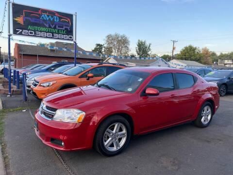 2013 Dodge Avenger for sale at AWD Denver Automotive LLC in Englewood CO