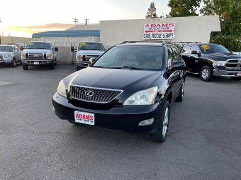 2005 Lexus RX 330 for sale at Adams Auto Sales in Sacramento CA