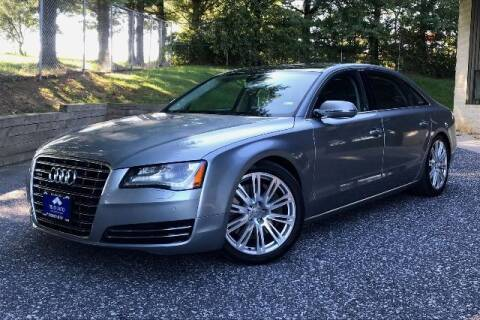 2012 Audi A8 L for sale at TRUST AUTO in Sykesville MD