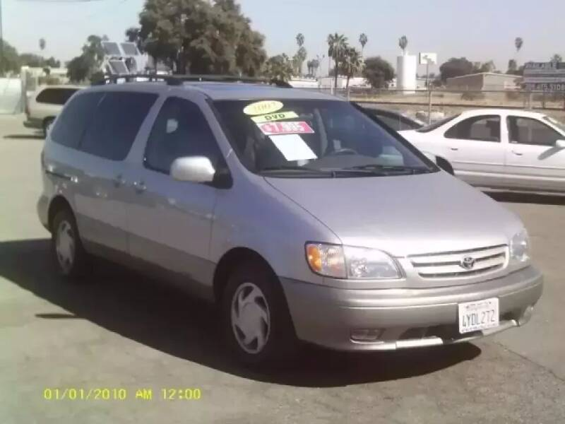 2002 Toyota Sienna for sale at Valley Auto Sales & Advanced Equipment in Stockton CA
