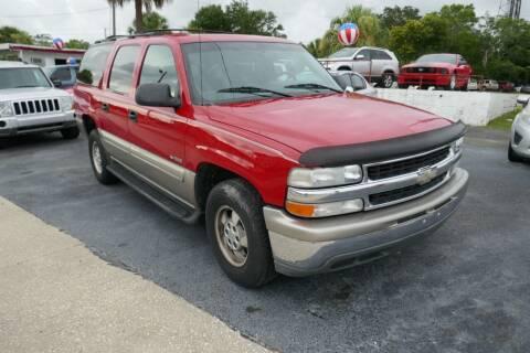 2000 Chevrolet Suburban for sale at J Linn Motors in Clearwater FL