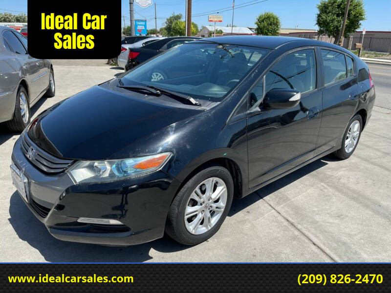 2010 Honda Insight for sale at Ideal Car Sales in Los Banos CA