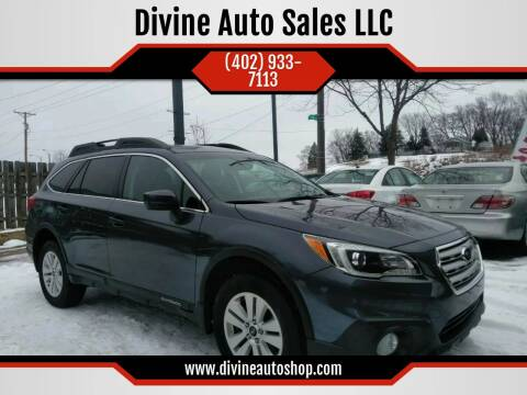 2017 Subaru Outback for sale at Divine Auto Sales LLC in Omaha NE