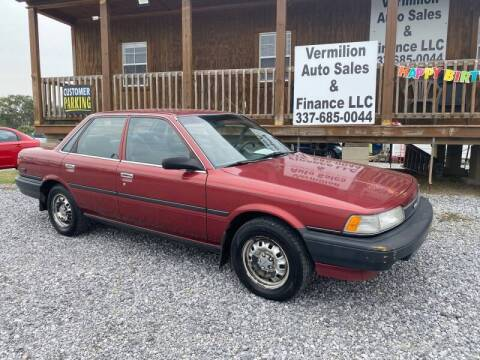 1990 Toyota Camry for sale at Vermilion Auto Sales & Finance in Erath LA