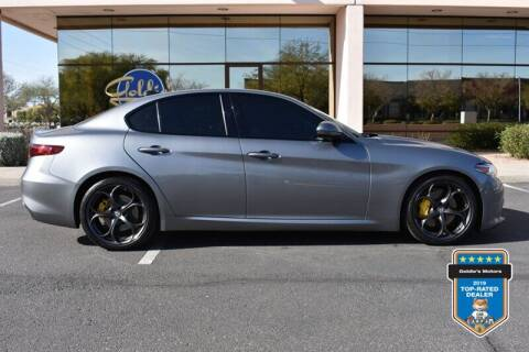2018 Alfa Romeo Giulia for sale at GOLDIES MOTORS in Phoenix AZ
