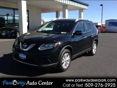 2014 Nissan Rogue for sale at PARKWAY AUTO CENTER AND RV in Deer Park WA