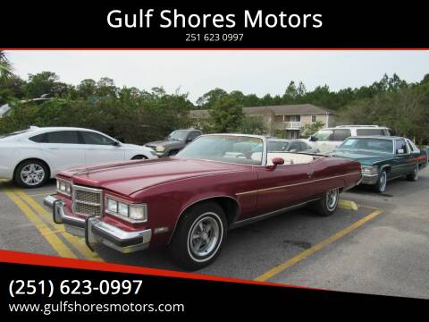 1975 Pontiac Grand Ville for sale at Gulf Shores Motors in Gulf Shores AL