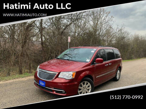 2015 Chrysler Town and Country for sale at Hatimi Auto LLC in Buda TX