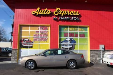 2006 Buick Allure for sale at AUTO EXPRESS OF HAMILTON LLC in Hamilton OH
