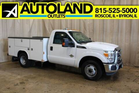 2016 Ford F-350 Super Duty for sale at AutoLand Outlets Inc in Roscoe IL