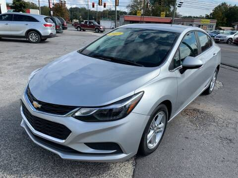 2017 Chevrolet Cruze for sale at Diana Rico LLC in Dalton GA