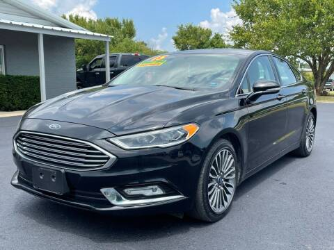 2017 Ford Fusion for sale at Jacks Auto Sales in Mountain Home AR