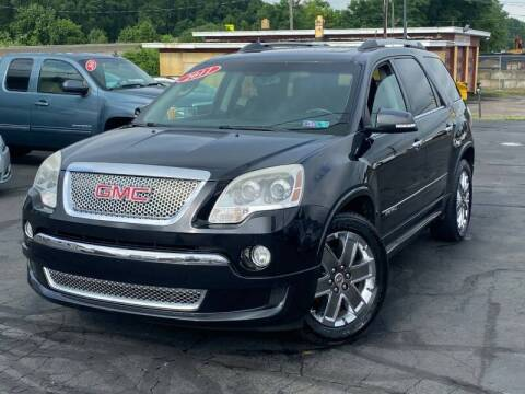 2011 GMC Acadia for sale at KAP Auto Sales in Morrisville PA