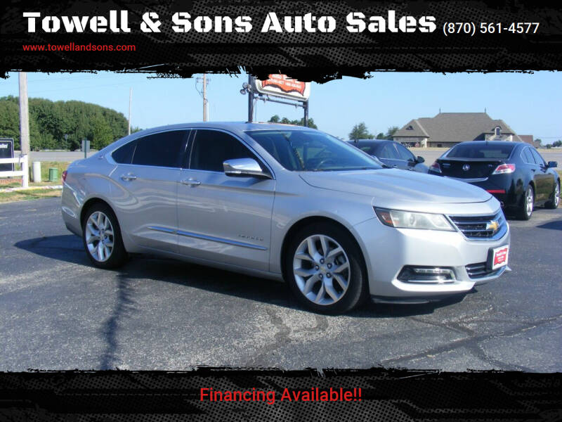 2014 Chevrolet Impala for sale at Towell & Sons Auto Sales in Manila AR
